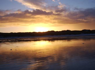 Banna Beach Sunset
