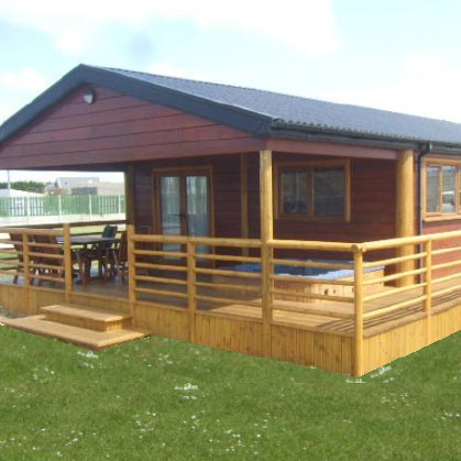sir rogers log cabins banna beach